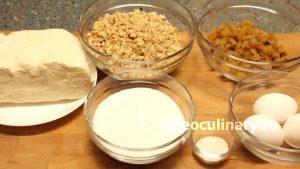 Ингредиенты Ореховые пирожные