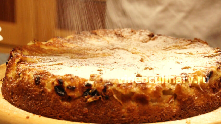 Быстрый яблочный пирог рецепт с фото