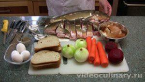 Ингредиенты Фаршированная рыба