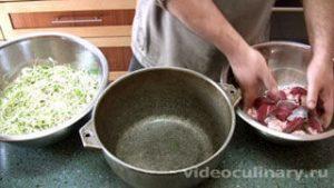 Ингредиенты Казан-кeбаб (шашлык в казане)