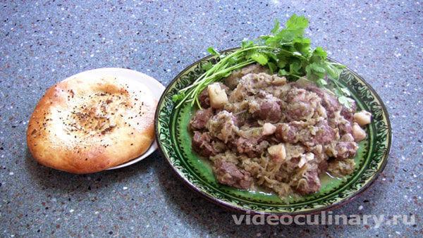 Казан-кeбаб (шашлык в казане)