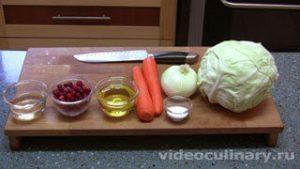 Ингредиенты Салат из белокочанной капусты