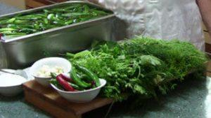 Ингредиенты Солёные огурцы