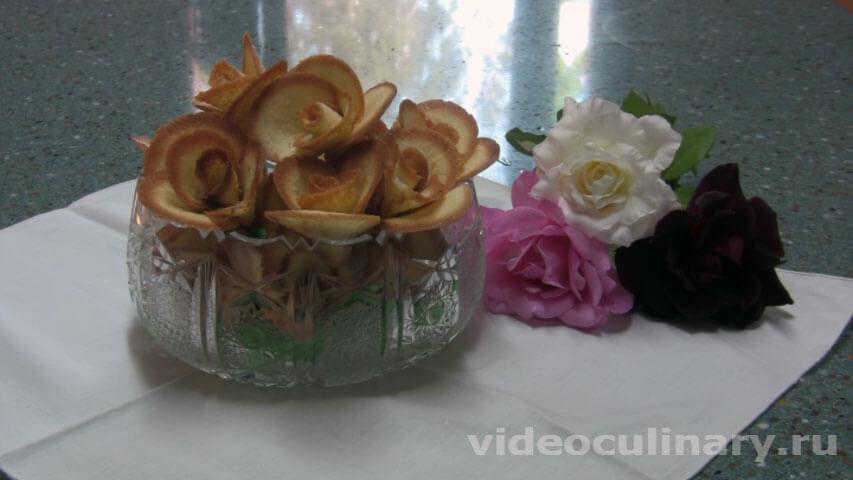 печенья для украшения торта рецепт
