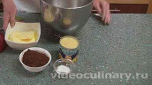 Ингредиенты Шоколадный масляный крем