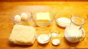 Ингредиенты Пирожные Трубочки
