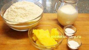 Ингредиенты Лепешки быстрого приготовления со сдобой