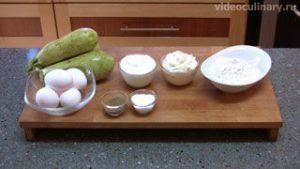 Ингредиенты Запеканка из кабачков