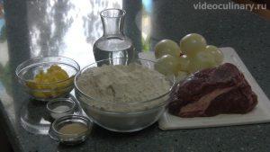 Ингредиенты Беляши из дрожжевого теста