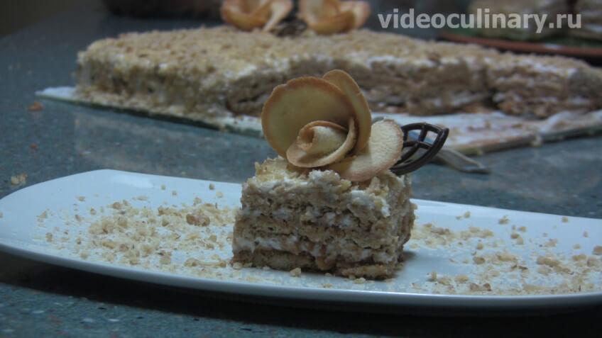 Медово-ореховый торт Вдохновение