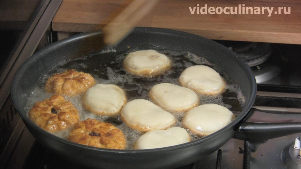 Как приготовить беляши с мясом на сковороде пошаговый