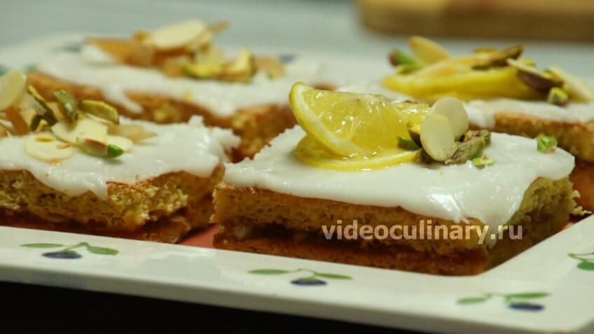 Пирожные Лимонные ломтики