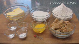 Ингредиенты Миндальное тесто с марципаном