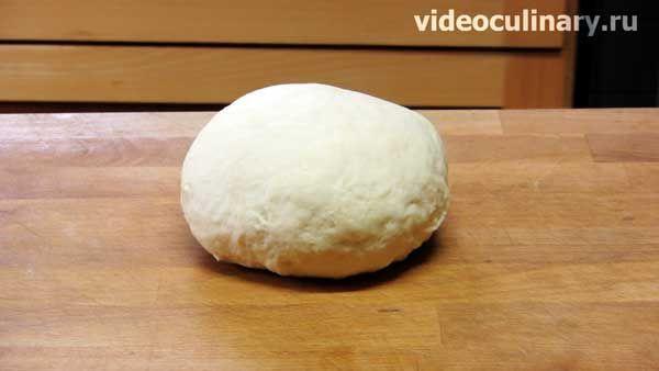 Пирожковое несладкое тесто на соде