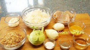 Ингредиенты Рыбный салат Лакомка