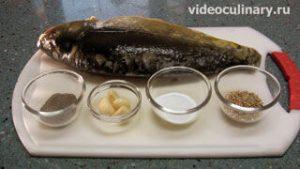 Ингредиенты Рыба жаренная по-восточному