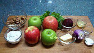 Ингредиенты Салат Ева