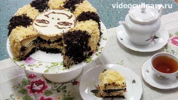 Торт махровый Солнышко