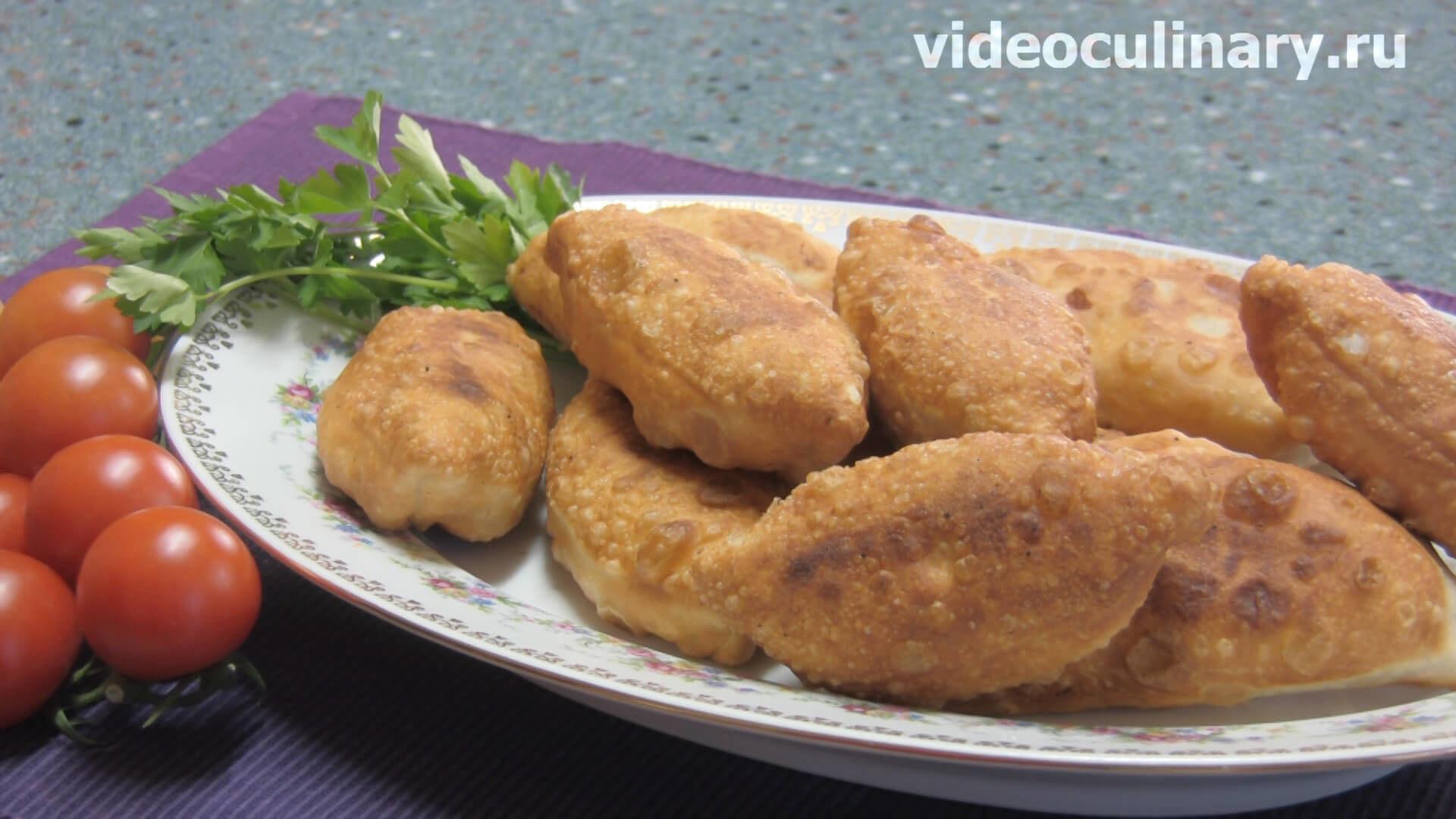 Рецепт жареных пирожков с картошкой на сухих дрожжах рецепт