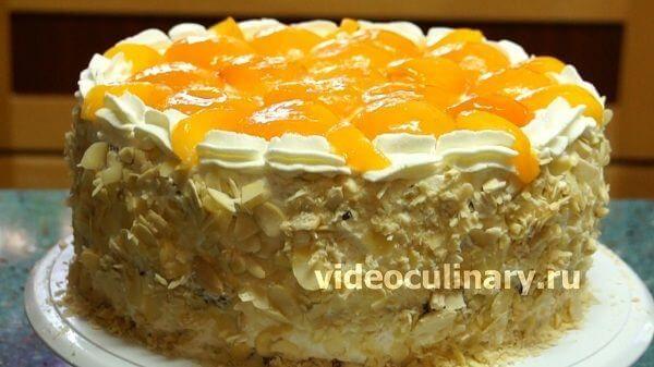 Торт рафаэлло рецепт с фото бабушка эмма