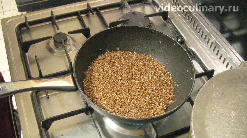 Гречка варить рецепт с фото пошагово