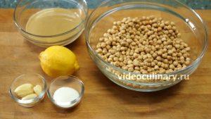 Ингредиенты Хумус