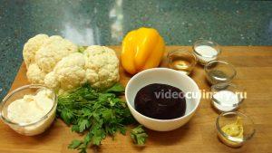 Ингредиенты Салат из цветной капусты со свеклой