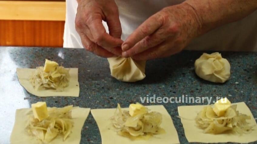 Манты рецепт с пошаговым фото как лепить