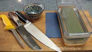 Ингредиенты Заточка ножей