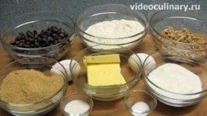 Ингредиенты Печенье Шоколадные чипсы