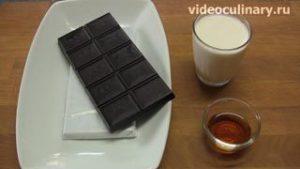 Ингредиенты Шоколадные конфеты Трюфели