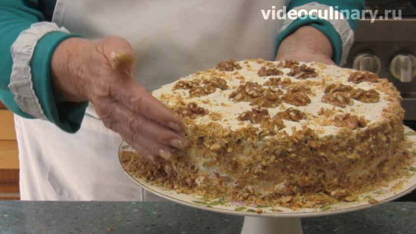 Торт сметанный от бабушки эммы