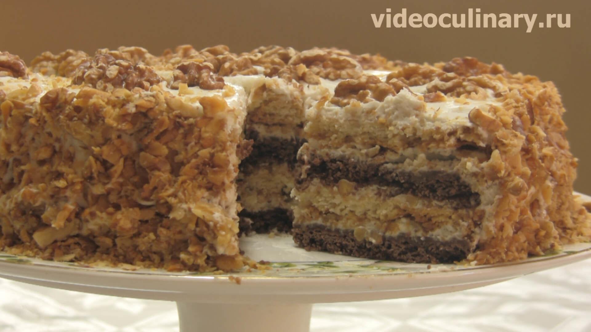 торт сметанник золотой колос рецепт