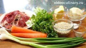 Ингредиенты Шотландский перловый суп с бараниной