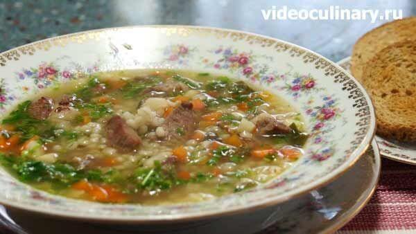 Шотландский перловый суп с бараниной