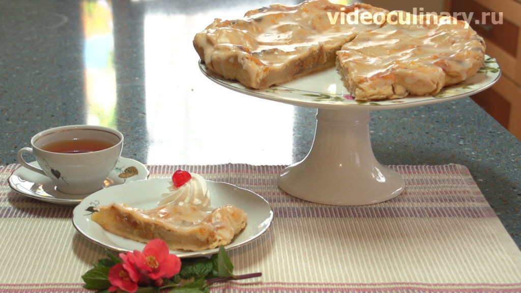 яблочный пай рецепт с фото пошагово