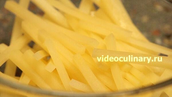 4 способа нарезки картофеля