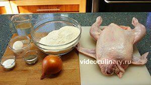Ингредиенты Пельмени из курицы