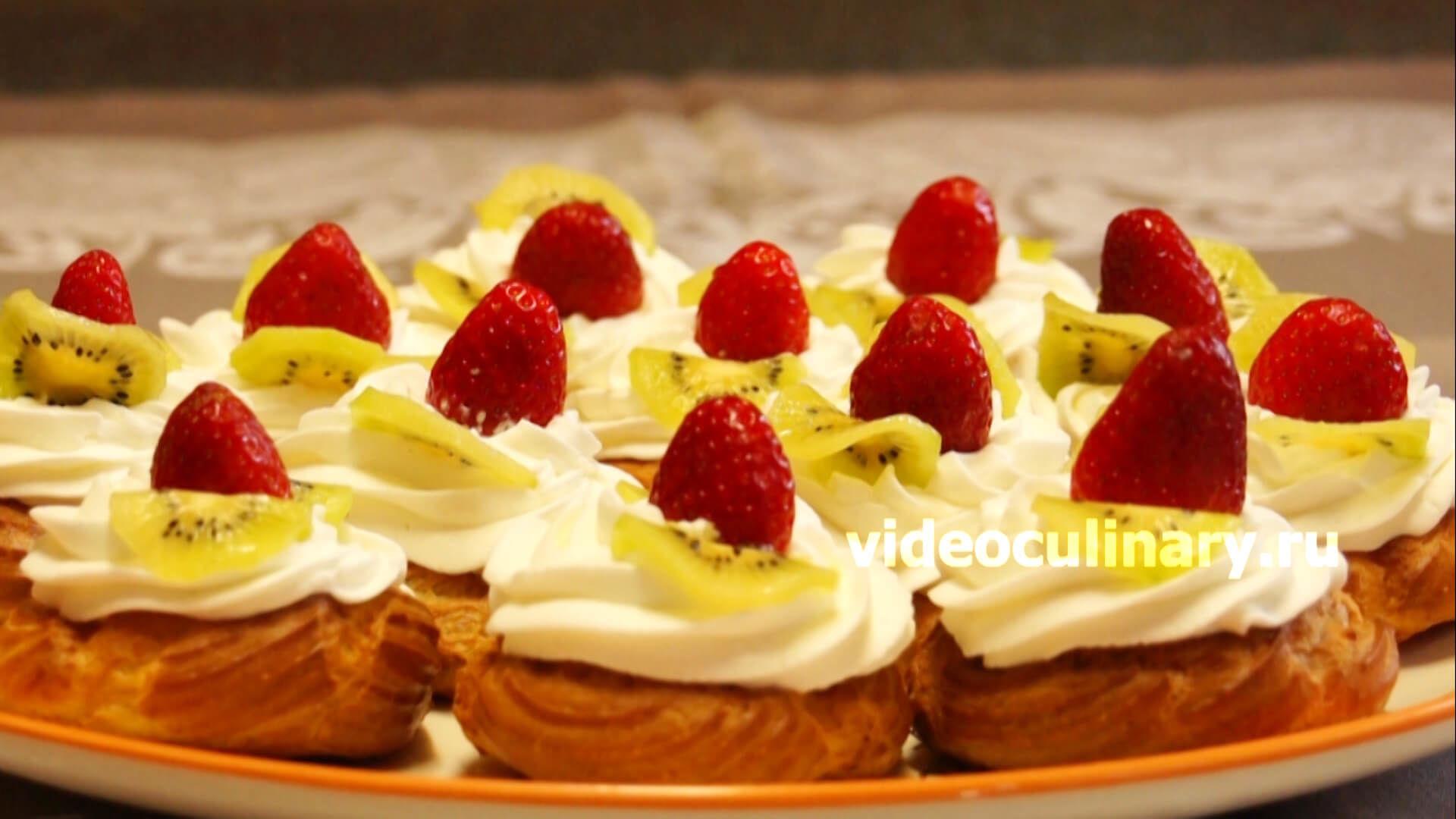 рецепты бабушки эммы заварные пирожные