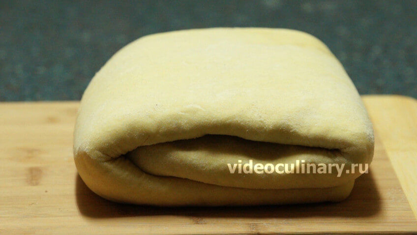 Дрожжевое слоёное тесто для круассанов