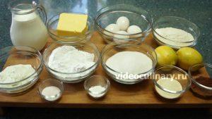 Ингредиенты Торт Птичье молоко с манкой
