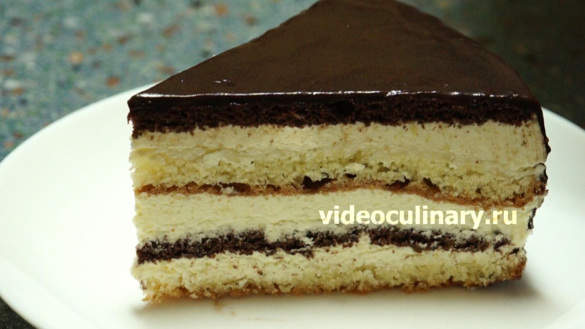 птичье молоко торт рецепт с видео