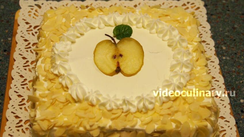 Торт Яблочко