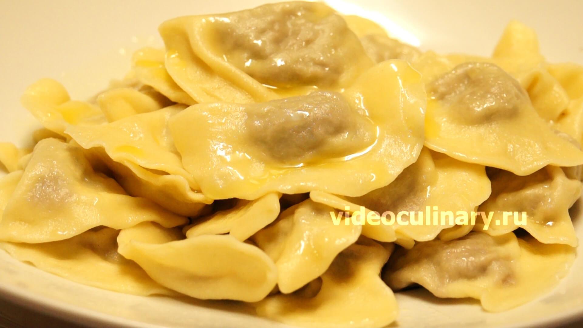 Картофельные вареники с мясом рецепт