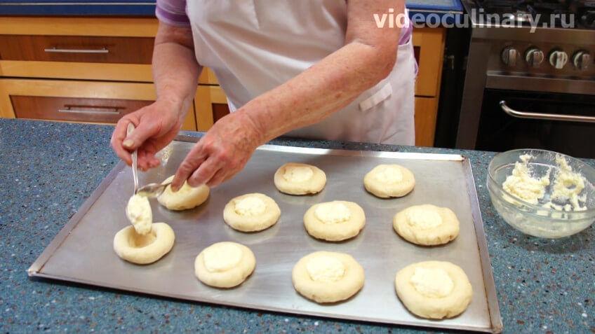 Как делать ватрушки с творогом рецепт пошагово