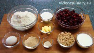 Ингредиенты Пирог с вишней