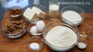 Ингредиенты Пирожные Паруса