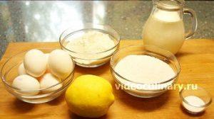 Ингредиенты Бисквитный торт Очарование