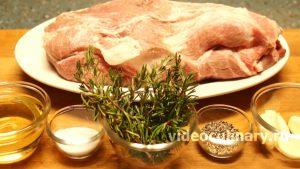 Ингредиенты Буженина из свиной шеи