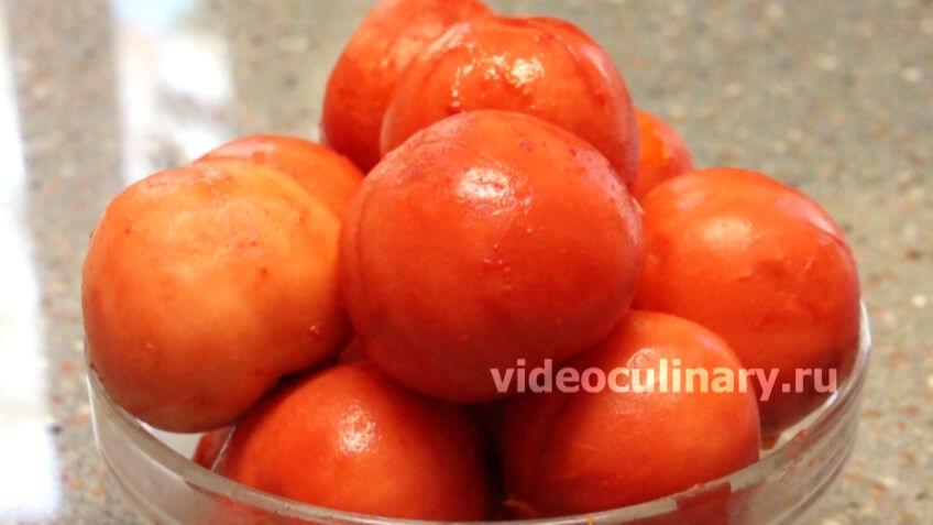 Два способа очистки помидоров от кожицы